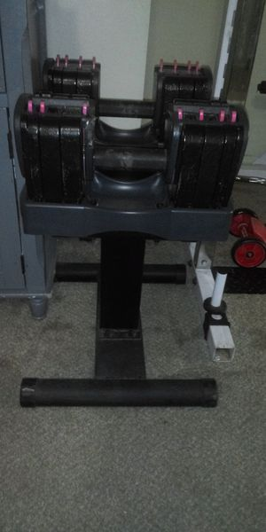 Turbobell adjustable weights for Sale in Palatine, IL