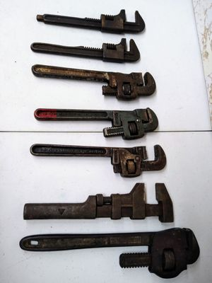 Vintage American Made Adjustable Wrenches for Sale in Monroeville, PA