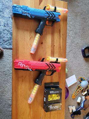 2 Nerf Rival Guns for Sale in Newport News, VA