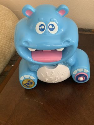 """7"""" Happy Counting Blue Hippo Kids Educational Interactive Toys Learn for Sale in Plantation, FL"""