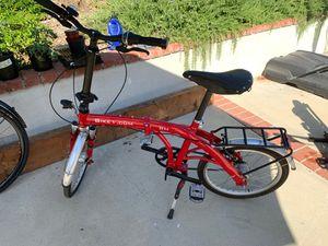 Folding Bike 7 Speed Gates Belt drive for Sale in Whittier, CA