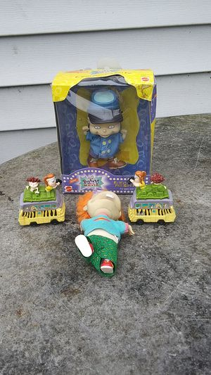 Rugrats Phil soft pal New and toy buses. For all 4 for Sale in Chicago, IL