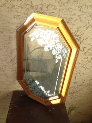 antique oak mirror for Sale in Tempe, AZ