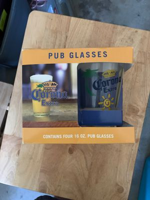 Corona Pub Beer Glasses Pint Size Brand New in Box for Sale in Athens, PA