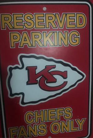 Chiefs parking poster for Sale in Wichita, KS