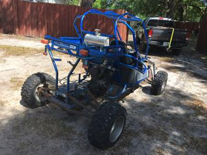 Buggy project frame extended 600cc motorcycle engine Yamaha Have a motor just not modified to put it on yet and get it running yet. Other minor work for Sale in Winter Park, FL