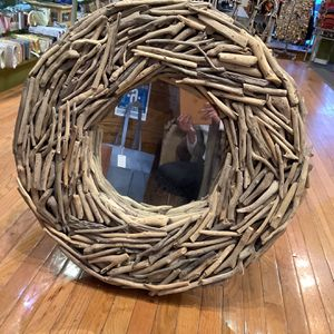 Wooden Hand Made mirror for Sale in Glen Rock, NJ