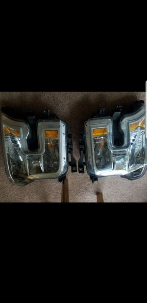 F150 headlight 2017 oem for Sale in Virginia Beach, VA