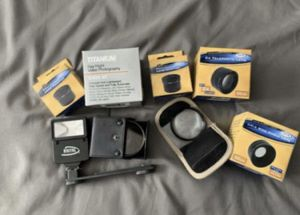 Camera lenses and flash for Sale in Turlock, CA