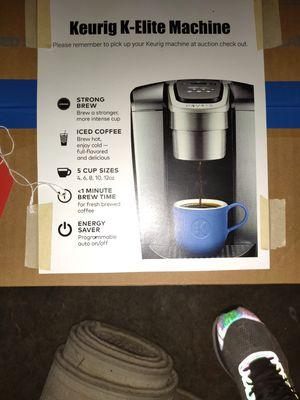 Keurig K-Elite coffee maker for Sale in Bellevue, WA