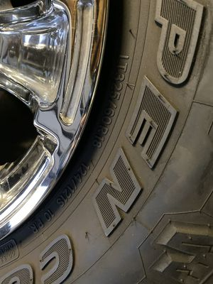 Lifted truck rims off GMC Sierra for Sale in Escondido, CA