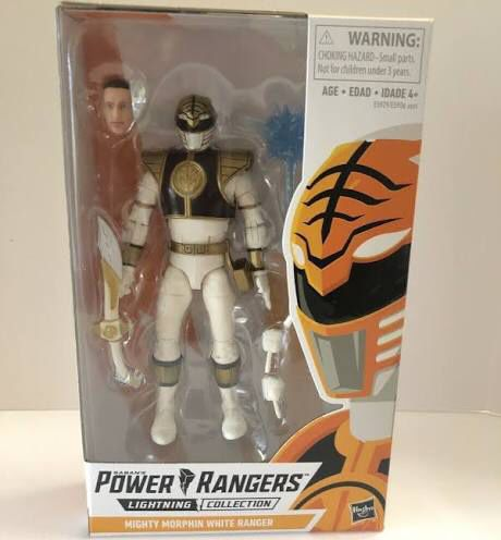 Power rangers White Ranger lightning collection