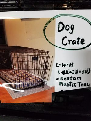 Dog crate excellent condition for Sale in Chicago, IL