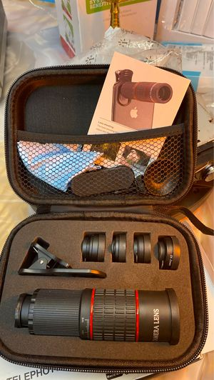 Five and one telephoto Lens kit for Sale in Columbus, OH