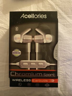 Brand New Wireless Earbuds w/ Case for Sale in Fresno, CA