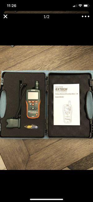 EX tech pinless moisture/humidity meter +IR for Sale in Manteca, CA
