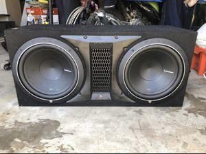 Rockford fodgate subwoofer with amp 500 12' for Sale in Nashville, TN
