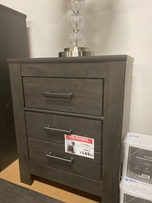Nightstand, Rustic Black for Sale in Downey, CA