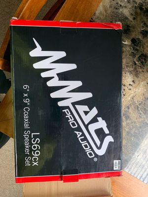 MMats pro Audio car mini speakers for Sale in Tacoma, WA