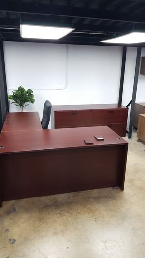 Full set office furniture for sale for Sale in Miami Springs, FL
