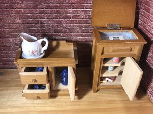 Dollhouse furniture for Sale for sale  North Richland Hills, TX