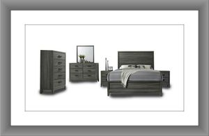 11pc Kate bedroom set free mattress and delivery for Sale in Rockville, MD