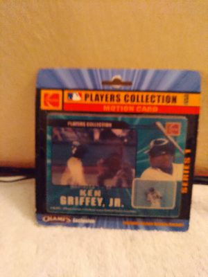 Ken Griffey Jr a hologram baseball card for Sale in Las Vegas, NV
