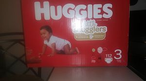 Huggies diapers (size 3) for Sale in Yarrow Point, WA