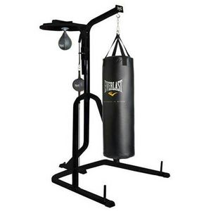 Everlast Powerstation - 3 Station Heavy Bag/Speed Bag/Double End Bag Stand with Bags and accessories for Sale in Pompano Beach, FL