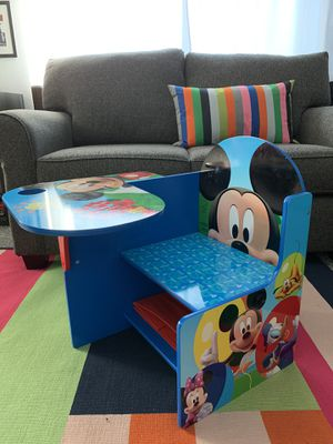 Mickey Mouse kids chair and desk for Sale in Gilbert, AZ