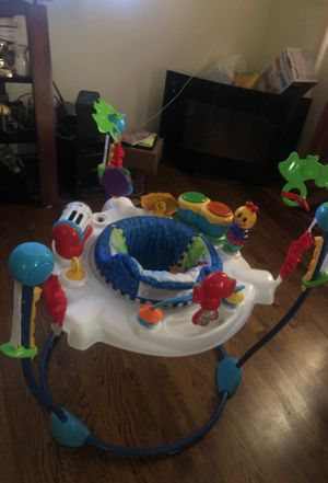 Baby jumper with toys for Sale in Washington, DC