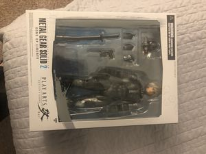 Metal Gear solid 2 sons of liberty action figure for Sale in Dunwoody, GA