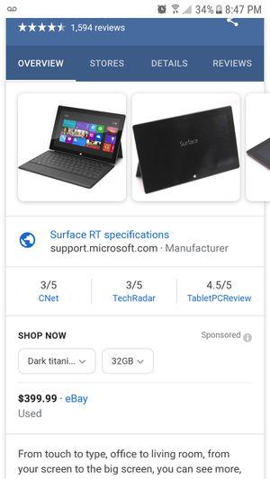 Microsoft surface for Sale in San Antonio, TX