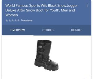 Kid Snow Boot for Sale in Upland, CA