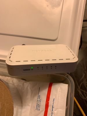 Netgear 5Port Gigabit Switch for Sale in Indianapolis, IN