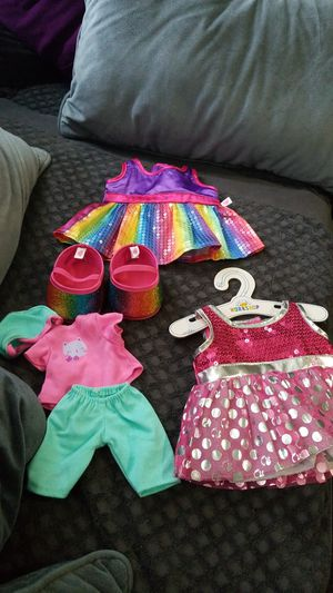 Doll and Teddy bear clothing for Sale in Kennewick, WA