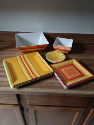 Plate & Bowls! Get Ready 4 Summer & BBQs for Sale in Tempe, AZ