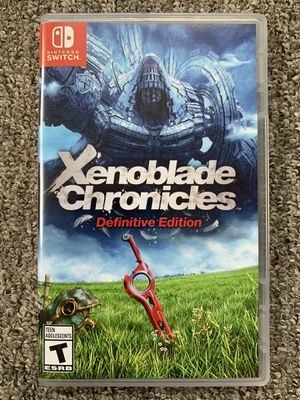 New Xenoblade Chronicle: Definitive Edition for Nintendo Switch for Sale in Lynnwood, WA