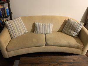 Couch and Pillows **Move out sale** for Sale in Washington, DC