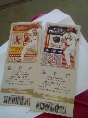 Cardinals Baseball tickets for Sale in St. Louis, MO