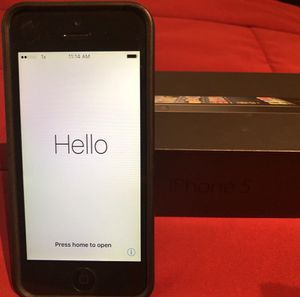 Sprint iPhone 5, black, 32GB for Sale in Houston, TX