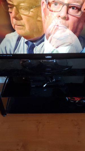 TV stand glass for Sale in Bonaire, GA
