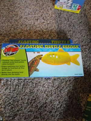 Floating turtle feeder for Sale in Dansville, MI