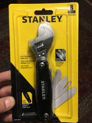 8 in 1 wrench & multi tool for Sale in Detroit, MI