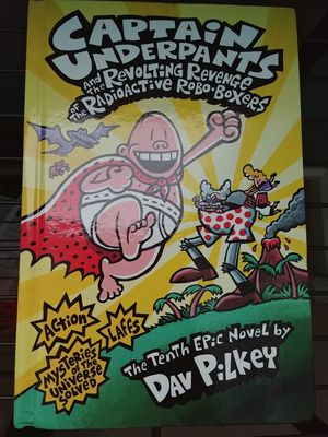 Brand New Hard Cover Captain Underpants Book for Sale in Nicholasville, KY