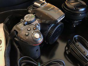 Nikon D5300 DSLR Camera With Accessories for Sale in Auburn, WA
