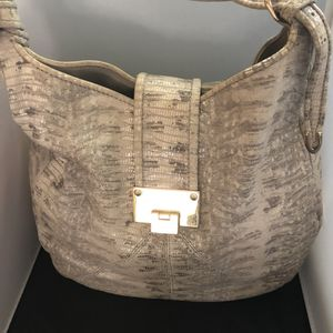 Authentic Jimmy Choo Leather Hobo Bag for Sale in San Diego, CA