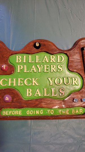 Game room plaque for Sale in SeaTac, WA