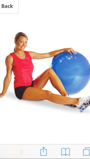Tone Fitness Stability Ball/Exercise Ball | Exercise Equipment for Sale in Alexandria, VA