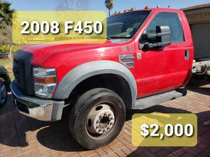 2008 Company vehicle. Selling the whole truck not for parts for Sale in Riverside, CA